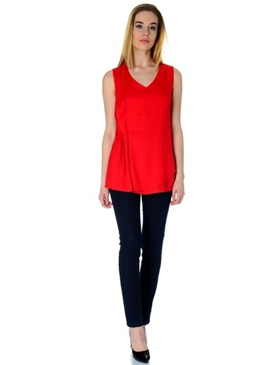 Caramel Bluz Kırmızı